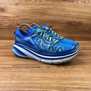 Hoka One One Bondi 4 Blue Athletic Running Shoes